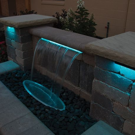 APC pond contractor formal waterfall installations