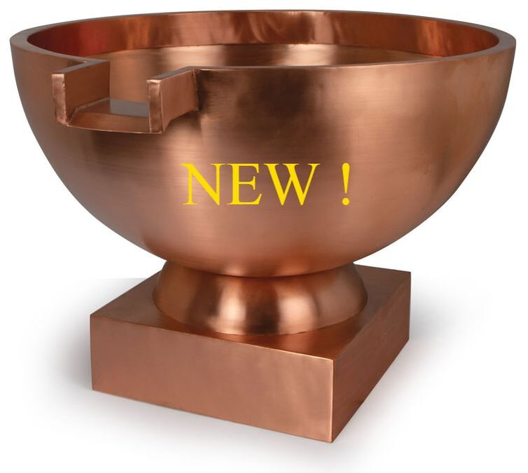 Atlantic Professional Pond Contractor Formal Copper Bowls