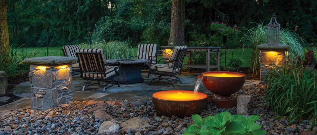 Copper Spillway Bowls Atlantic Professional Pond Contractor - Cleveland TN