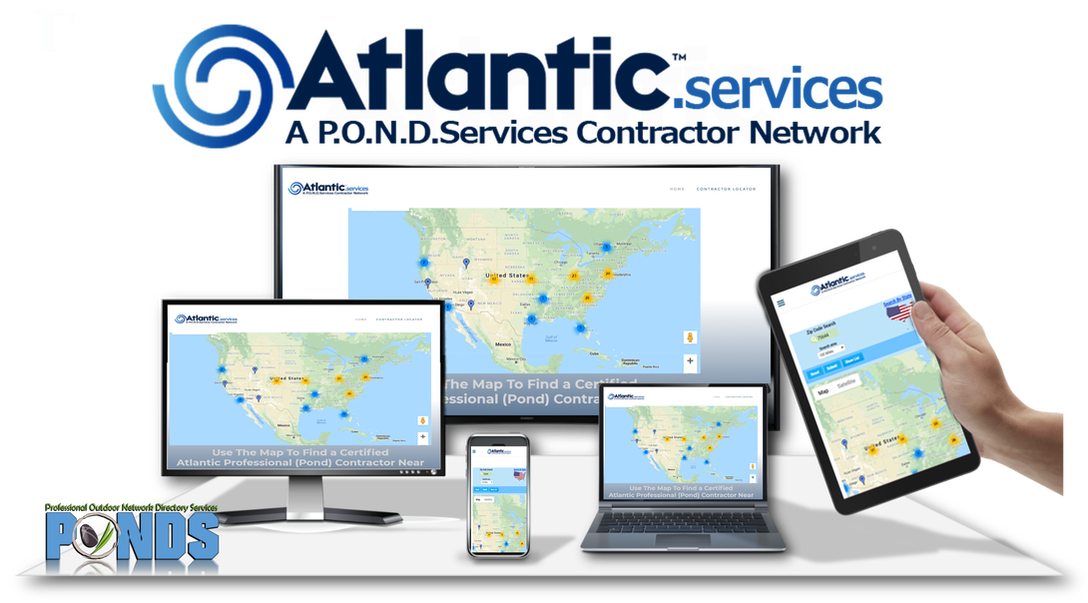Locate an Atlantic Professional Pond Contractor Near You